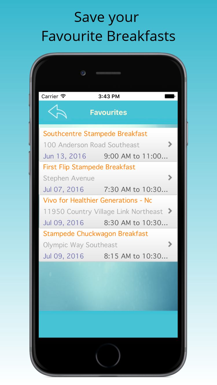 Flapjack Finder iPhone App - Find Pancake Breakfasts in Calgary