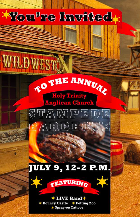 Holy Trinity Anglican Church Stampede BBQ